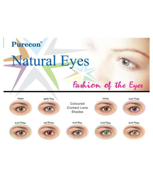 Purecon color contact lens