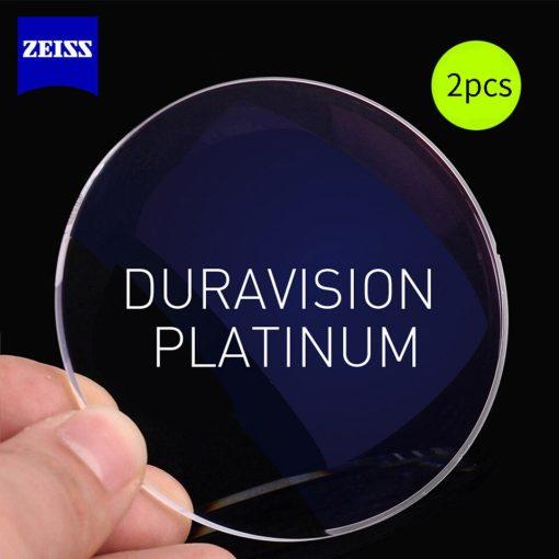 ZEISS Dura Vision Platinum Clear Lenses 1 56 1 61 1 67 1 74 Transparent